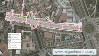 Las obras en la Avenida de la Finca La Palma empiezan en Octubre