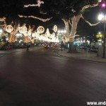 Alumbrado de Navidad 2008 en Malaga