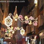 Fotos del Alumbrado de Navidad 2008 en Malaga