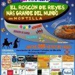 El Roscón de Reyes más grande del mundo en Montilla