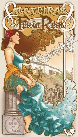 cartel de la Feria de Algeciras 2009