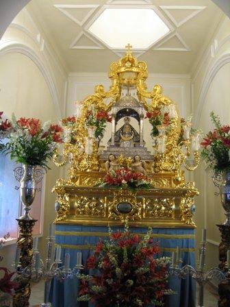 Trono de Nuestra Señora de los Remedios