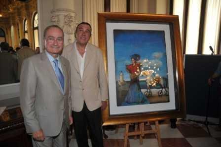 Presentación Cartel de la Feria de Málaga 2009