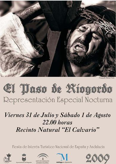 edición especial nocturna del Paso de Riogordo