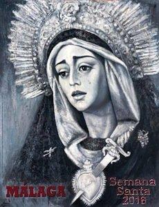 Cartel de la Semana Santa de Málaga 2016