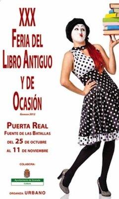Feria del Libro antiguo y de ocasión de Granada 2012