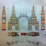 Diseño de la Portada de la Feria de Sevilla 2013