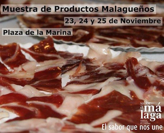 Muestra de productos Malagueños
