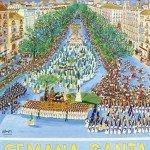 Cartel de la Semana Santa de Málaga 2013