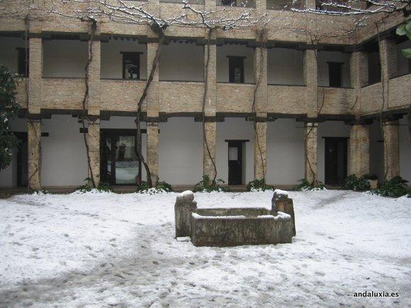 Corral del Carbón tras las nevadas