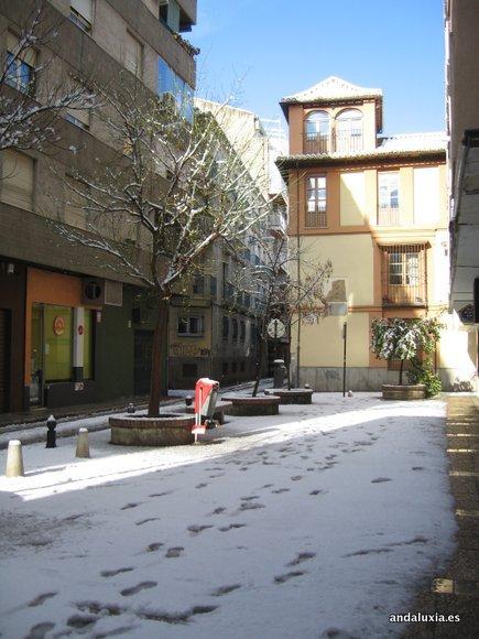 Calle Nueva de San Anton nevada