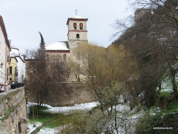 Iglesia de San Pedro nevada