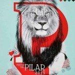 Cartel de las Fiestas del Pilar de Zaragoza 2013