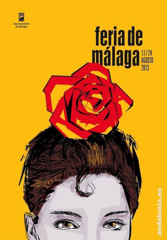 Cartel de la Feria de Málaga 2013