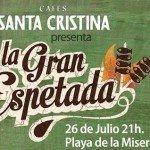 Espetos y café gratis en la Playa de la Misericordia de Málaga