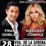 Fran Doblas y Nazaret en concierto