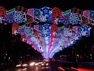 Alumbrado de Navidad en Barcelona