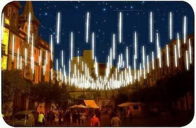 Nuevo alumbrado en Plaza de El Salvador de Sevilla