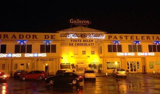 Belén de Chocolate de Rute 2013
