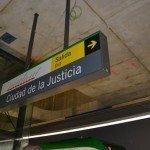Estación de la Ciudad de la Justicia del Metro de Málaga