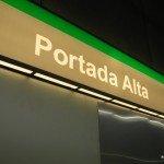 Estacion de Portada Alta del Metro de Málaga