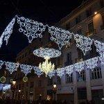 Luces de Navidad en Málaga 2013