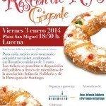 Roscón de Reyes gigante en Lucena