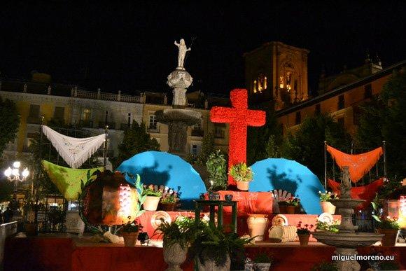 Cruces de Mayo de Granada 2014