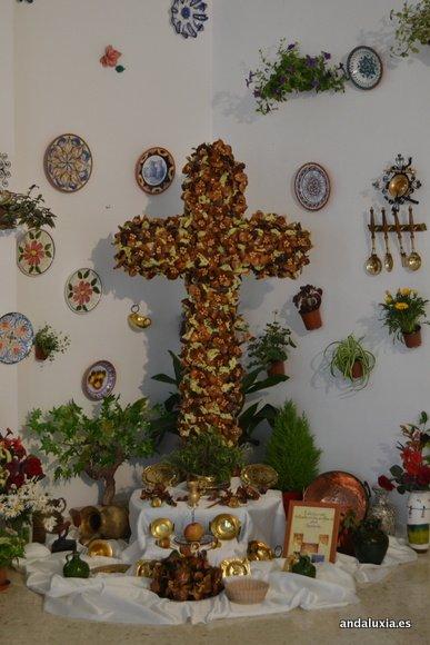 Cruz de Mayo de la Asociación de Mayores Generación del 33 de Málaga