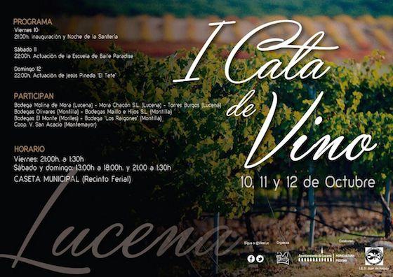 Nueve bodegas de la D.O. Montilla-Moriles reúnen sus caldos en la I Cata de Vino de Lucena