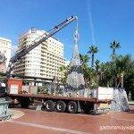 Inauguración del alumbrado de Navidad de Málaga 2014