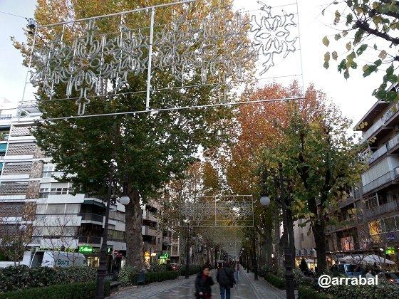Alumbrado de Navidad de Granada 2014
