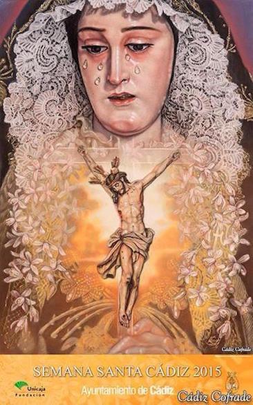 Cartel de la Semana Santa de Cádiz 2015
