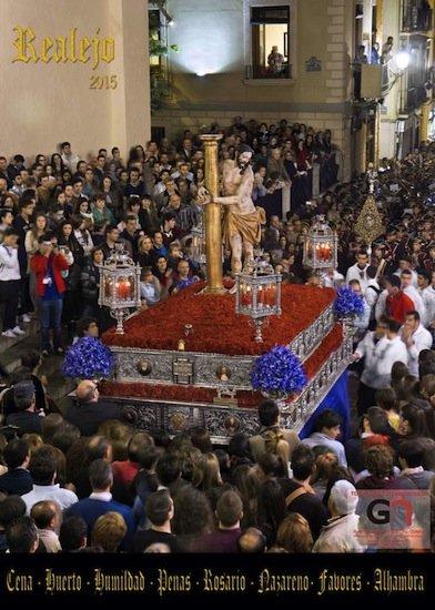 Cartel de la Semana Santa del Realejo de Granada 2015