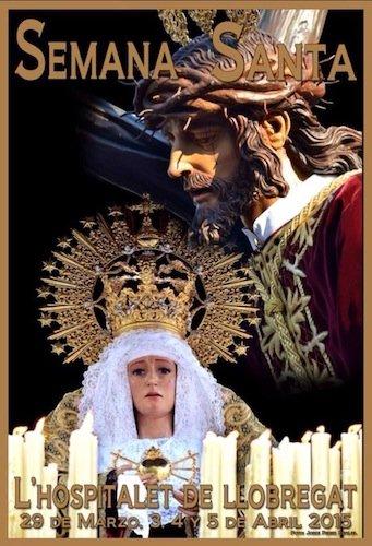 Cartel de Semana Santa de L´Hospitalet de Llobregat 2015