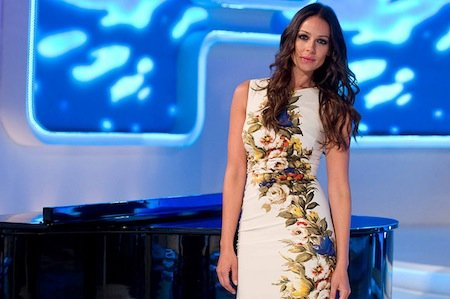 Eva González presenta la copla en Canal Sur Andalucía