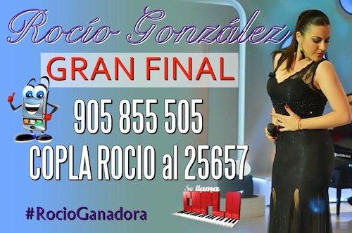 Rocio Gonzalez Finalista de Se llama copla