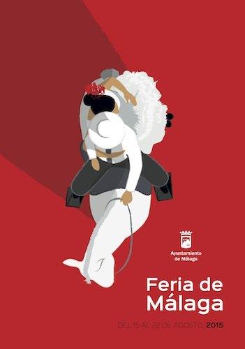 Cartel oficial de la Feria de Málaga 2015