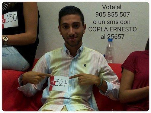 Tito Castell candidato a concursante en Se llama copla 9