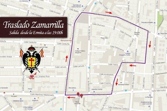 Traslado de Zamarrilla