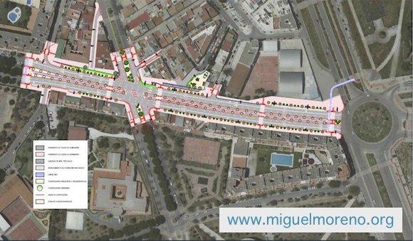 Nueva Avenida en la Finca La Palma