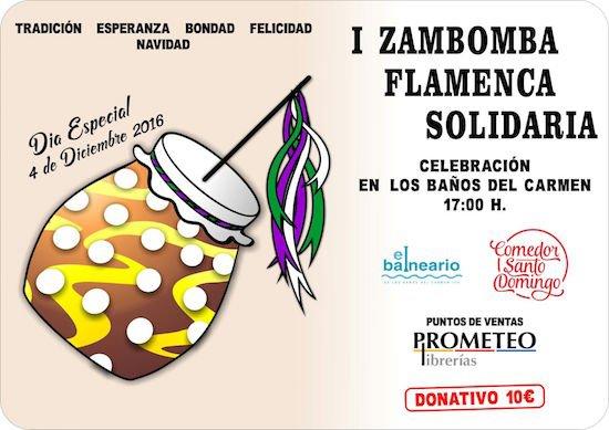 Zambomba Solidaria - Comedor St Domingo