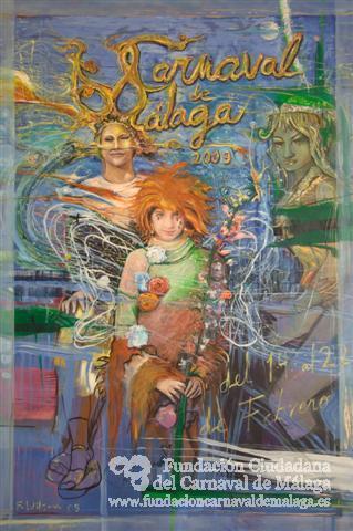 cartel carnaval malaga 2009